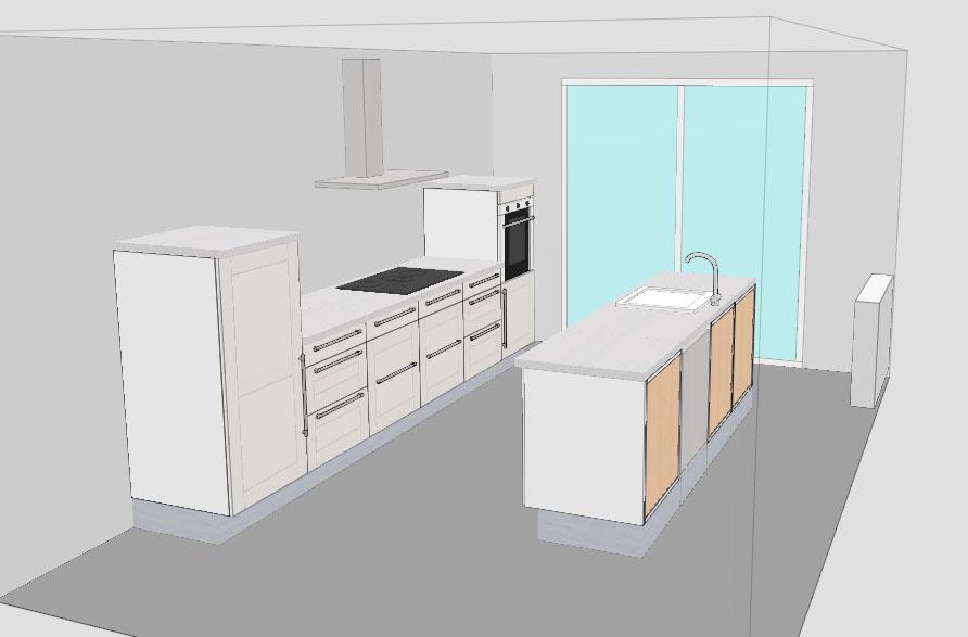 Keukens - In het midden eiland keuken ...